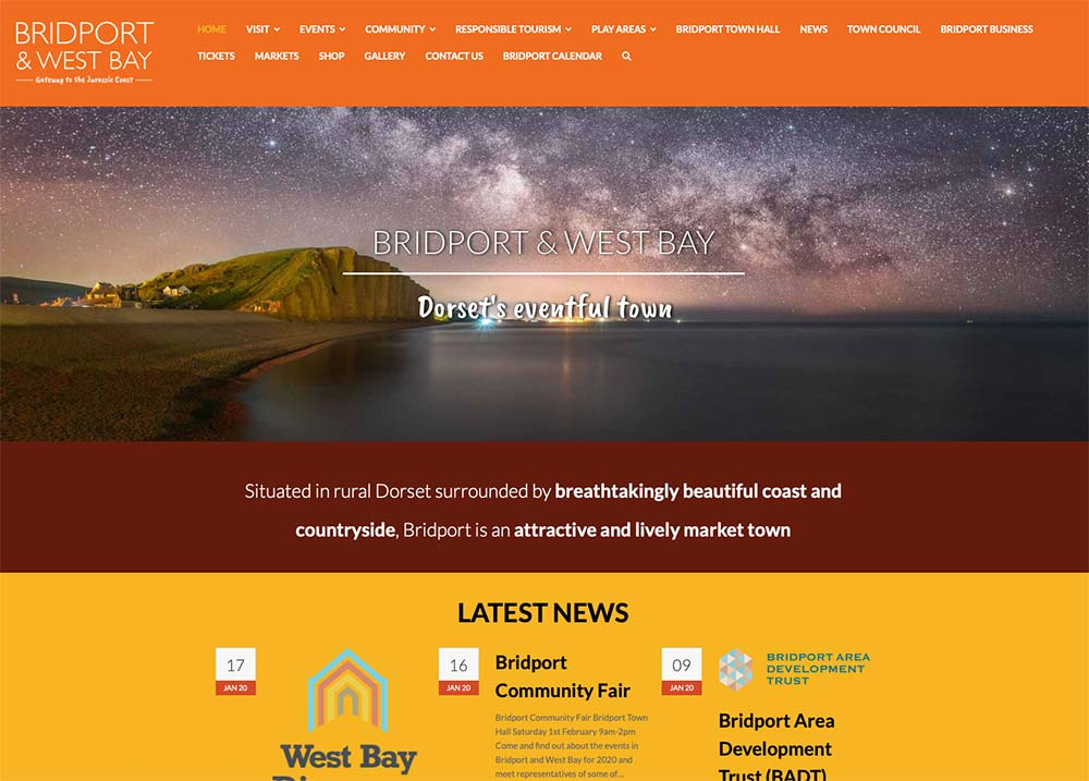 Bridport And West Bay Website For Bridport Town Council And Tourist Information Centre