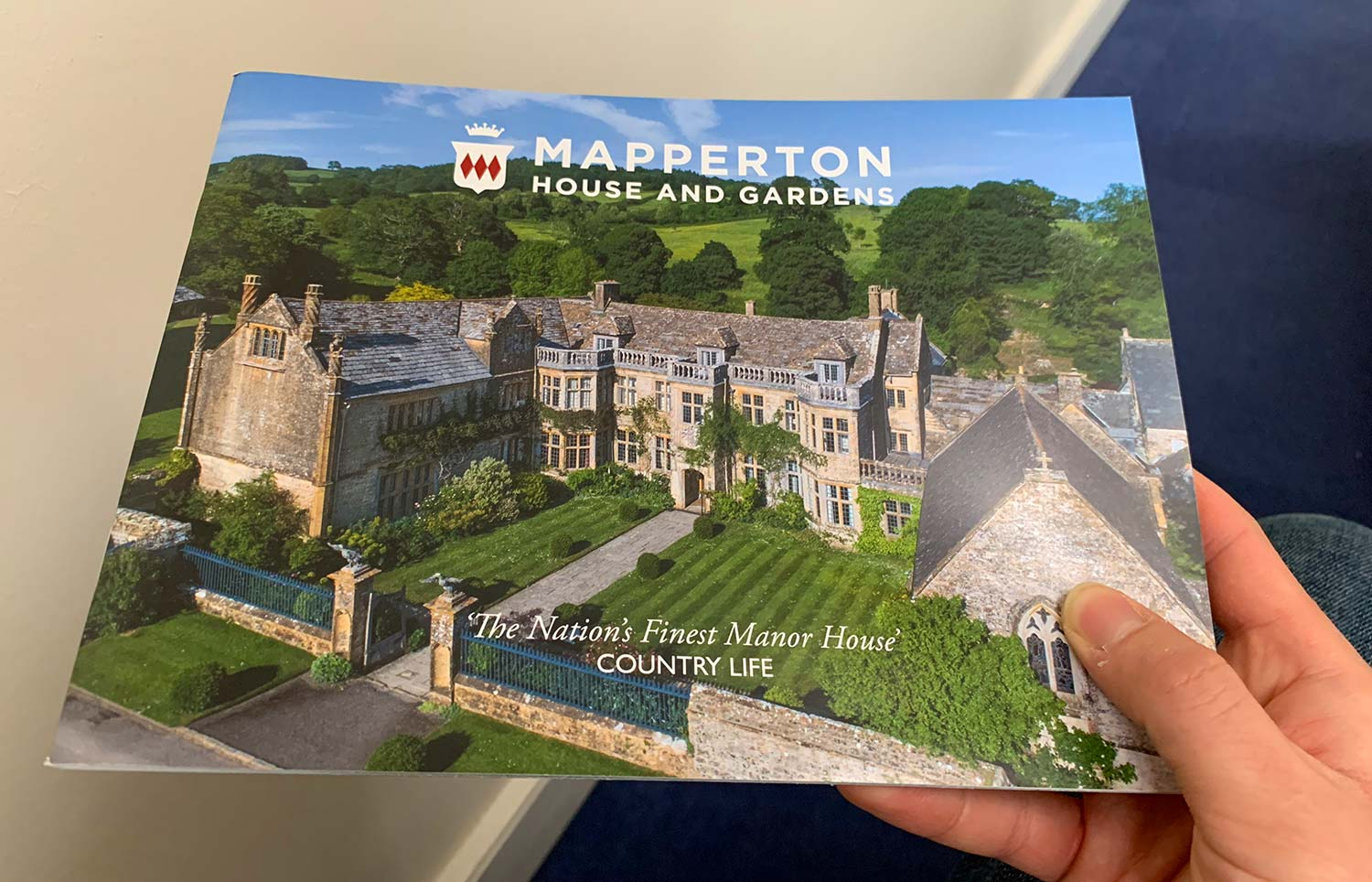 Mapperton House & Gardens Guidebook