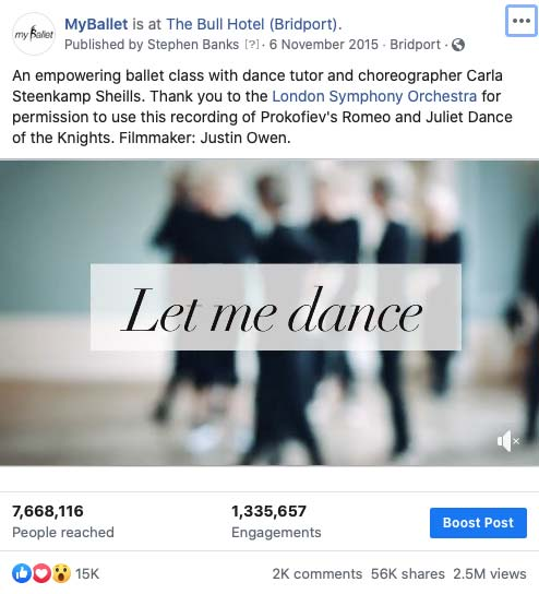 Let Me Dance - Viral Video For MyBallet Social Media